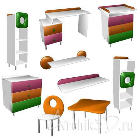 Картинки на детских шкафчиков 30 шт