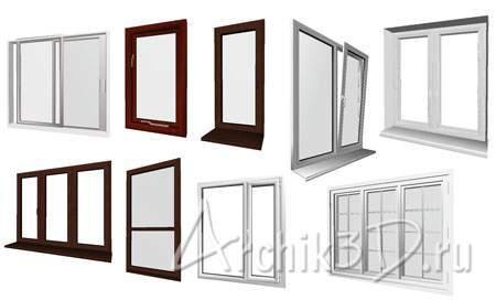 Металлопластиковые окна 9 шт
