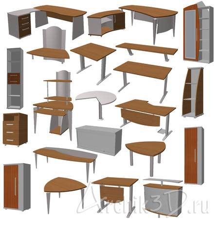 Модели Мебели Для Архикада