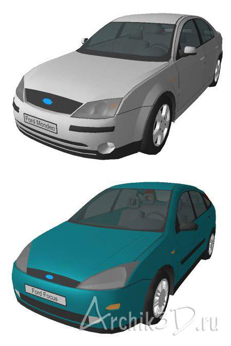 Ford Focus и Ford Mondeo