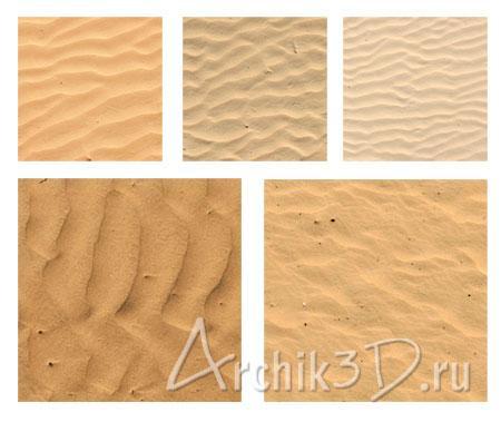 бесшовная текстура песка:
